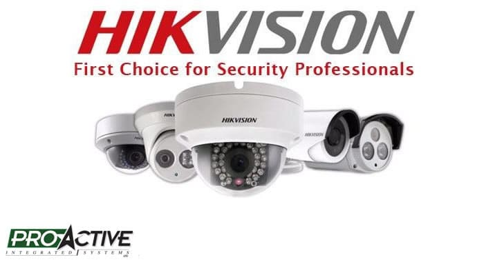 Hikvision Camera System Installers